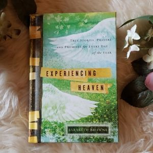 "Devotional ""Experiencing Heaven"" Hardcover Book"